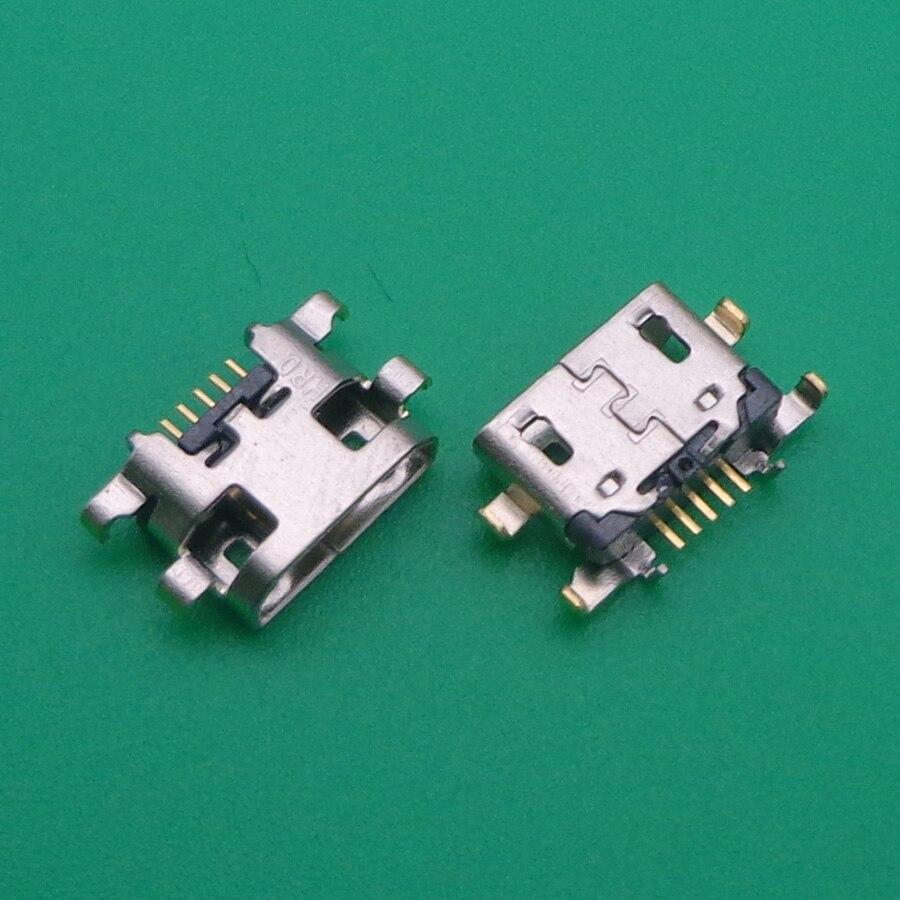 10 Uds para Lenovo K6 Mini Micro USB Jack conector de puerto de carga conector de enchufe piezas de repuesto