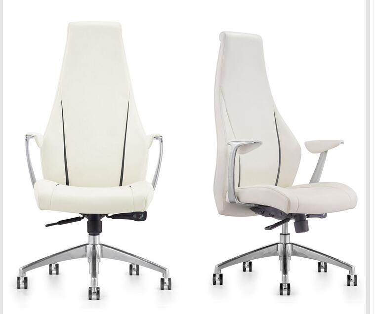 Фото - Современное офисное кресло, офисное кресло для бизнес-конференций, компьютерное кресло, модное кресло руководителя, кожаное кресло с банто... кресло