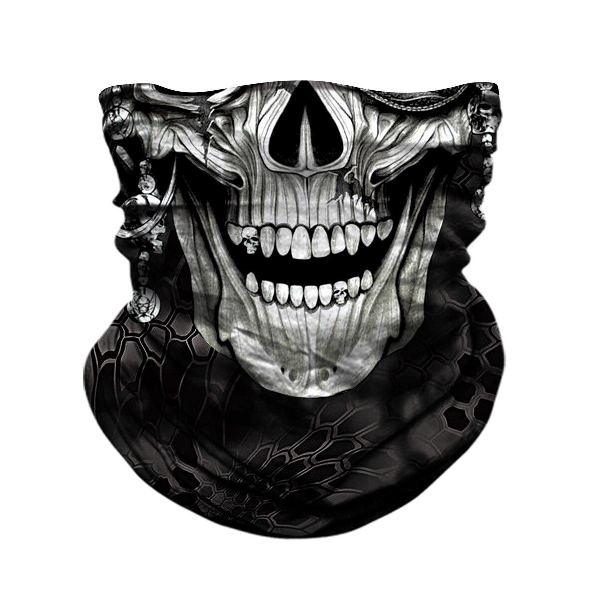 Magic Men Women Windproof 3D Seamless Neck Gaiter Face Mask Balaclava Shield Camp Cycling Fishing Biker Bandana Headband Scarf