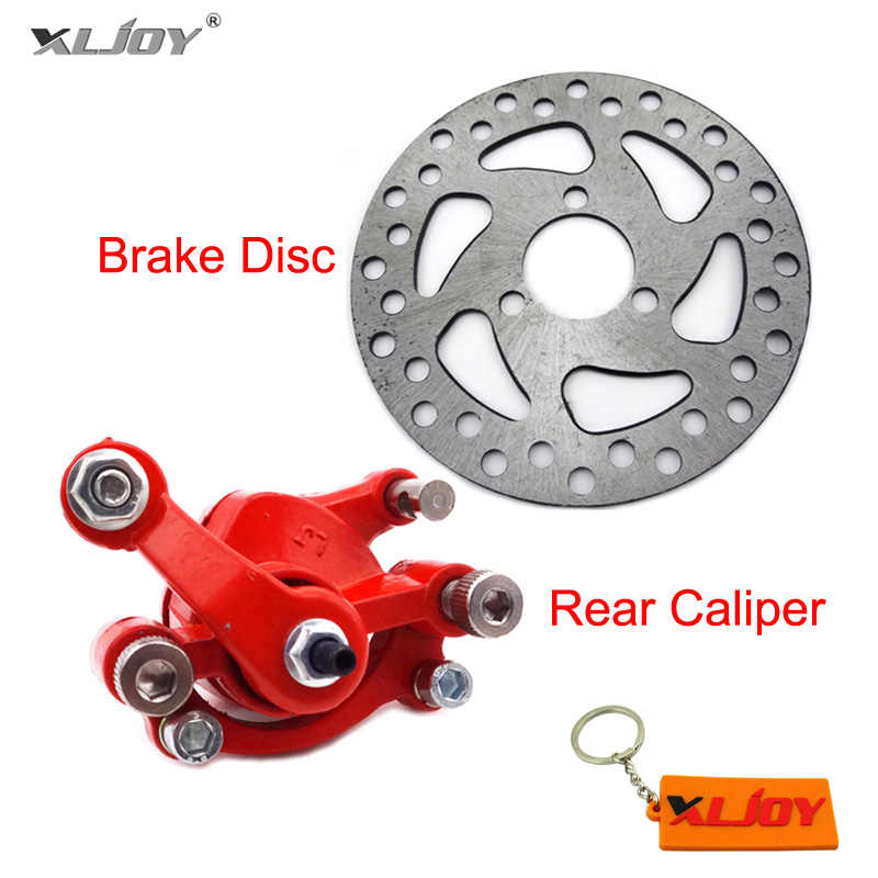 Xljoy Vorne Links Bremssattel 120mm Bremsscheibe Für 2 Hub Minimoto Go Kart Roller Motorrad Brake Disc Rotors Left Brakebrake Disc Aliexpress
