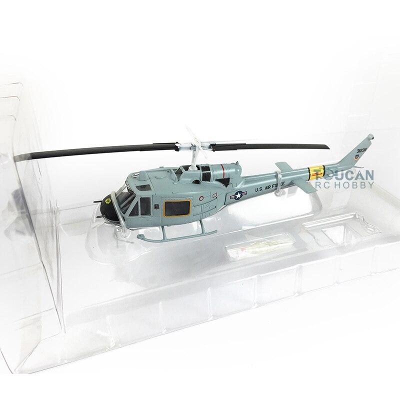 Modelo fácil 36917 1/72 escala cinza UH-1F huey helicóptero avião acabado modelo