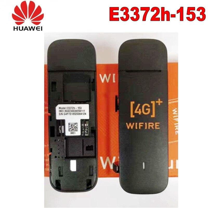 Desbloqueado Huawei E3372H-153 E3372s-153 4G LTE Cat4 USB módem de banda ancha...