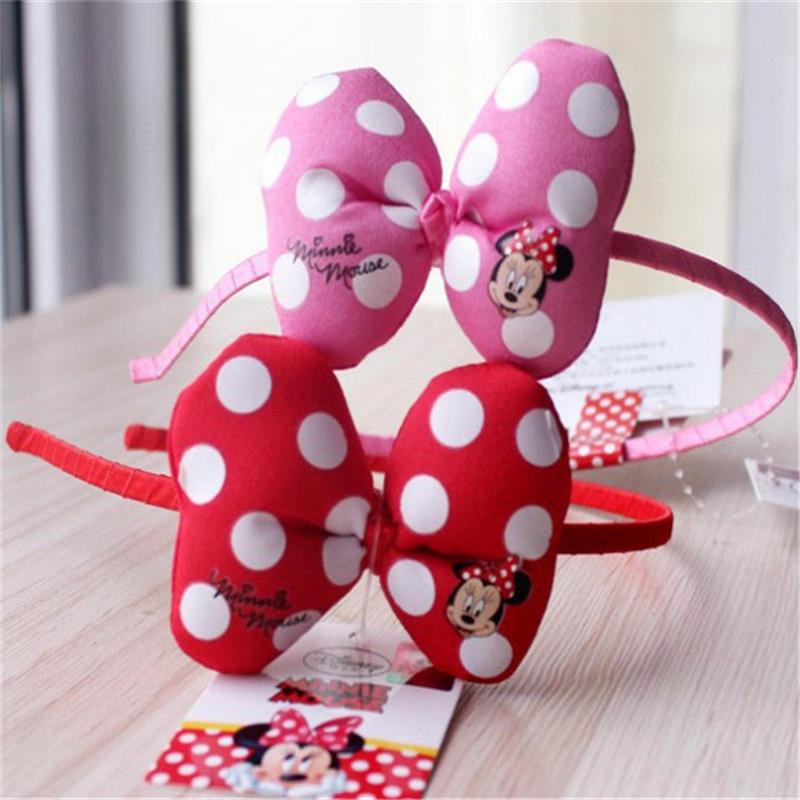 Disney 2019 de año nuevo de navidad nuevo niño accesorios de la muñeca Mickey diadema de princesa de las niñas de dibujos animados Clips
