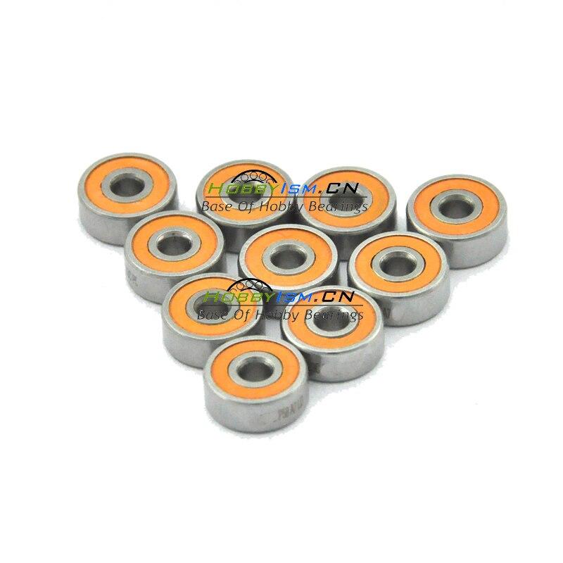 10 pcs 3x7x3 Híbrido Cerâmico Inoxidável Tendo SMR683C 2OS A7