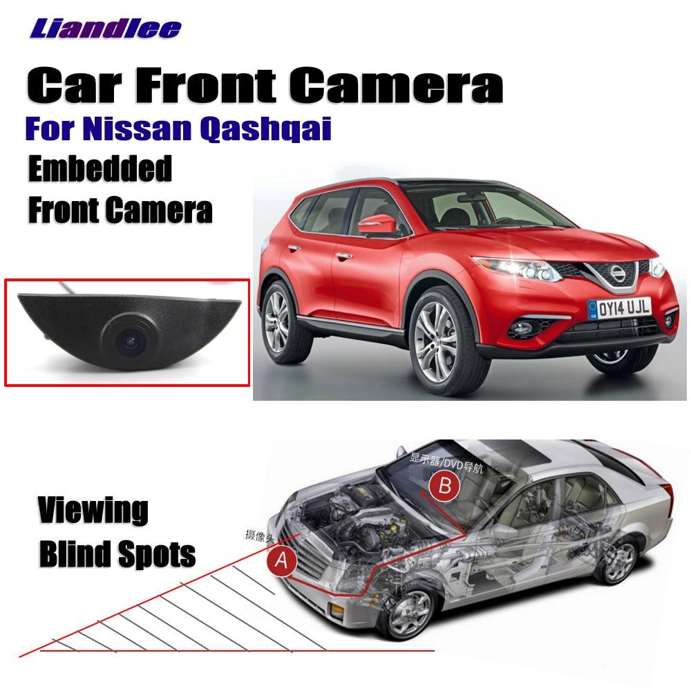 """Cámara de visión delantera para coche/interruptor en encendedor de cigarrillos/4,3 """"Pantalla LCD/Monitor para Nissan Qashqai 2006-2018 J10 NJ10 J11"""