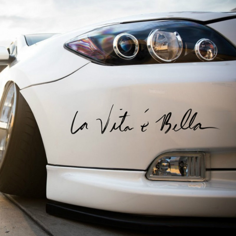 La Vita e Bella Автомобильная наклейка «Доберман» для VW Golf 5 6 7 Jetta MK5 MK6 MK7 CC Tiguan Passat B6 b7 Scirocco New Touareg R line GTI
