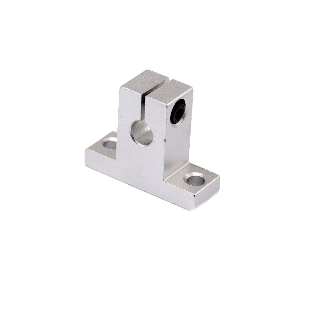 Gran oferta, 1 unidad SK16 16mm, soporte de eje de carril lineal, mesa XYZ, Router CNC SH16A