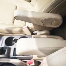 Garniture de poignée pour Honda CRV   Style de voiture, cuir microfibre, siège de conducteur/de passager latéral, garniture de poignée pour Honda CRV 2007 2008 2009