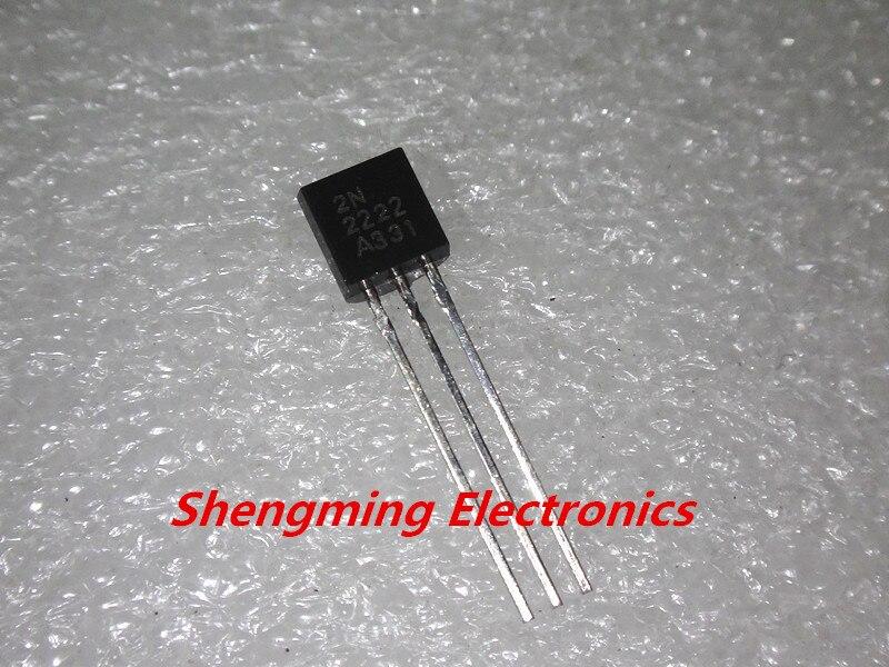 1000 Uds 2N2222 MPS2222 transistores NPN-92 0.8A 40V