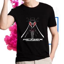 KODASKIN Moto T shirt dla Honda NC750X motocykl GP Raing Casual bawełniane topy koszulkę mężczyzn tshirt