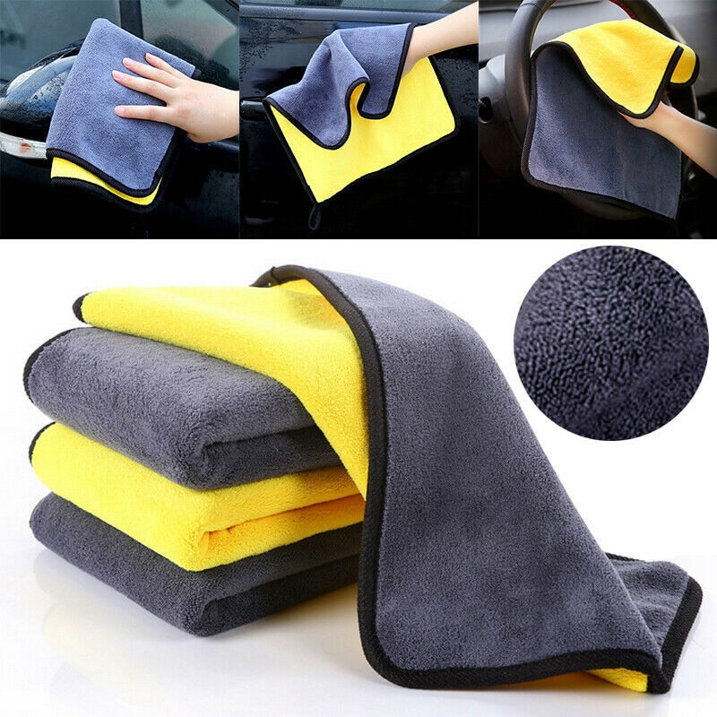 Microfiber Car Wash Towel Car Cleaning Cloth FOR renault clio golf 7  mazda cx-5 w211 vw polo 9n vw beetle toyota chr ford