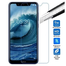 9H Premium Tempered Glass For Nokia X5 5.86 inch 2.5D 0.26mm Screen Protector protective film For No