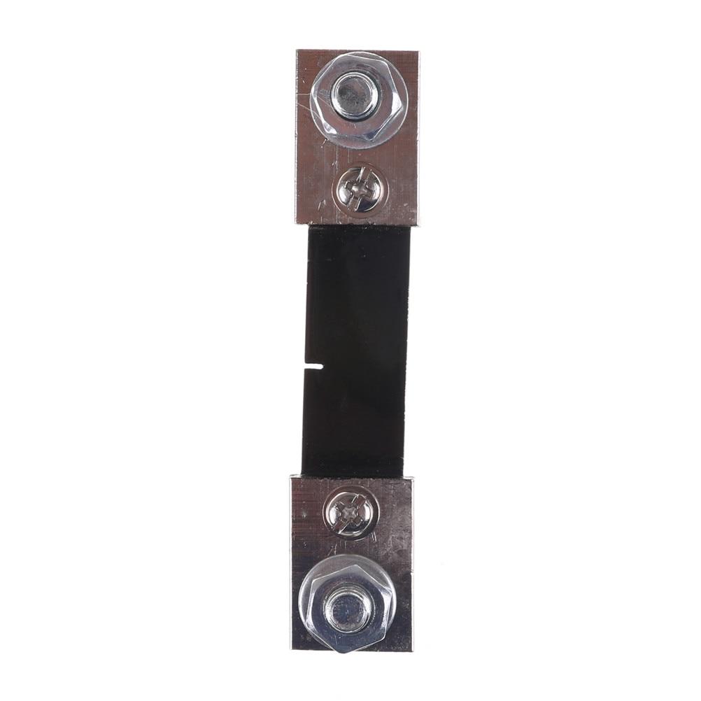1 PCS DC 100A/75mV Shunt Resistor 0-100A Ampere Panel Meter Shunt Currect Monitor For Ammeter High garde