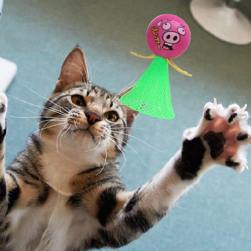 [MPK Shop] Springen Katze Spielzeug, Pet Spielzeug, Nylon Net Katzen Unterhaltsam Spielzeug