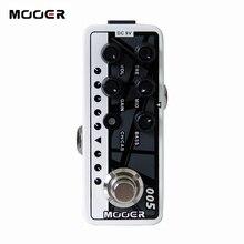 Mooer 005 son marron cinquante-cinquante 3 préampli double canal haute qualité 2 modes différents pour opération footswitch effet guitare