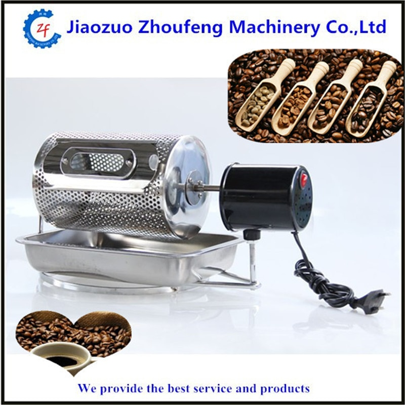 Home use drum coffee roaster for sale electric stainless mini coffee roasting machines  ZF