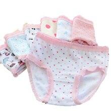 Wholesale(10pcs/lot) Cartoon Design Underwear For Children Kid, 100% Cotton Girls Shorts Underpants Knickers, Free shipping
