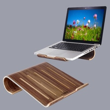 SAMDI Vogue plaque de refroidissement pour ordinateur portable en bois support refroidisseur en bois support Dock universel pour MacBook Air Pro Retina pour iPad