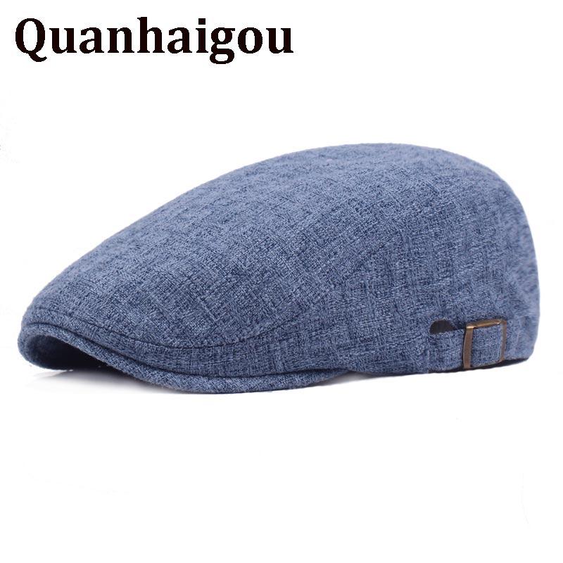 Caliente vendedor irlandés taxista Guarro de Ivy League sombreros de ornitorrinco Retro Vintage estilo sombrero de sol, Gorras Planas planos boinas Gorras