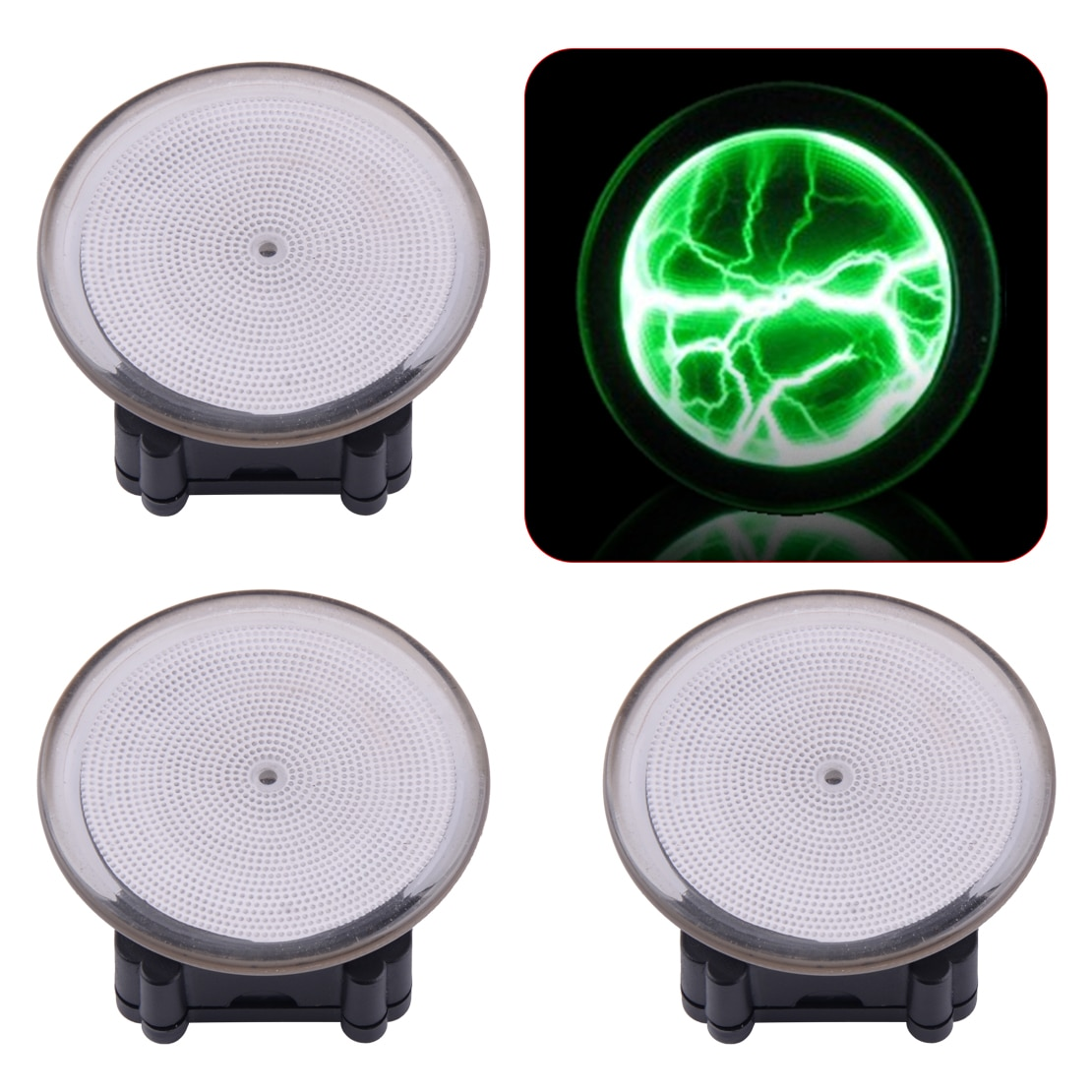 LETAOSK lindo colorido Mini bolsillo Plasma Disco Sensor Placa de luces casa decoración de Club Disco luz de noche vestido de decoración