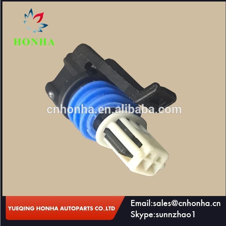 Envío Gratis LS IAT AEM & Haltech IAT arnés de cables hembra de 2 pines conector Auto impermeable 15449027 para Delphi