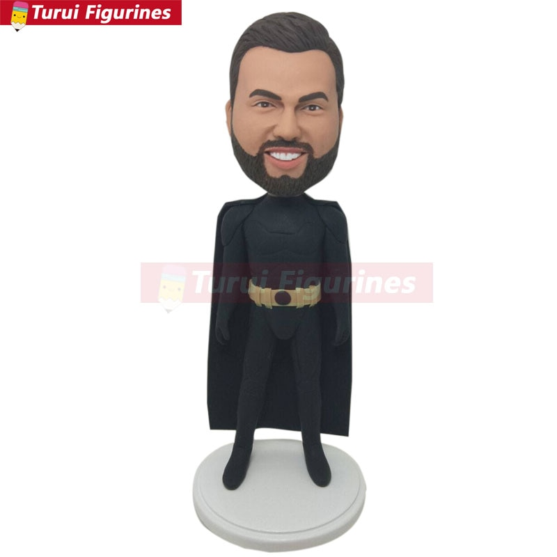 Batman presente personalizado batman bobble cabeça personalizado batman aniversário batman bolo topper batman presente do marido presente do namorado ba