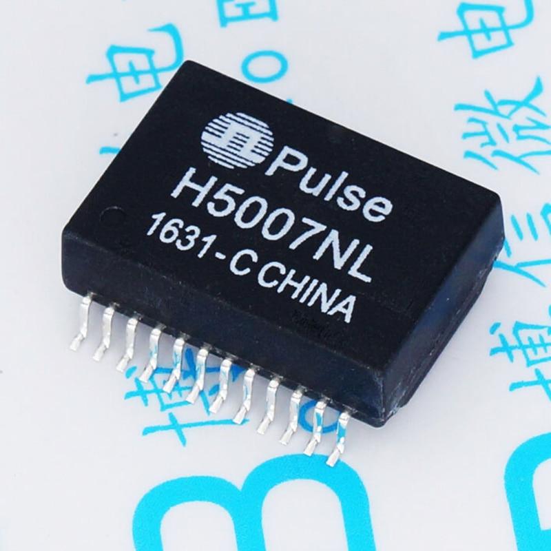 5 pcs H5007NL SOP-24 Conector 1000 m Rede Ethernet Patch DE PULSO Transformador/Filtro de 17.53*12.2mm