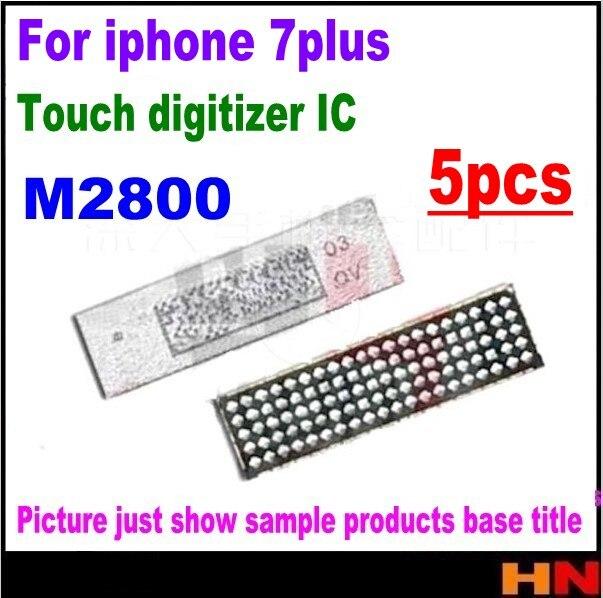 5 шт. M2800 для iPhone 7 Plus 7 P сенсорный IC сенсорный дигитайзер экран чип 7x23 контакты