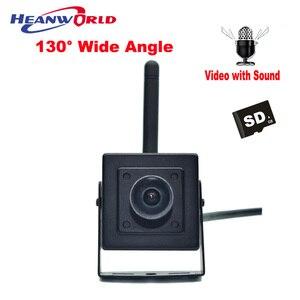HD IP Camera WiFi Wireless 720P Smart Security Camera Wide Angle 130 degrees Mini Camera WiFi Micro SD Network IP Cam Microphone