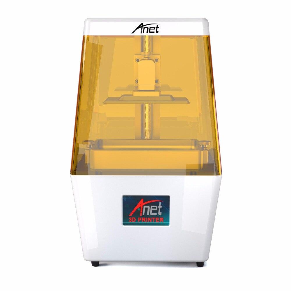 Impresora 3D Anet N4 UV LCD, carcasa de plástico de aleación de aluminio de alta precisión, mini impresora 3D LCD Prusa I3, resina UV 3D