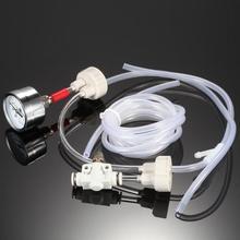 Aquarium Diy CO2 Generator System Kit Mit Co2 Ventil Regulater Tisch Monitor Oder Nur 2 Flasche Abdeckungen Für Aquarium Wasserpflanze