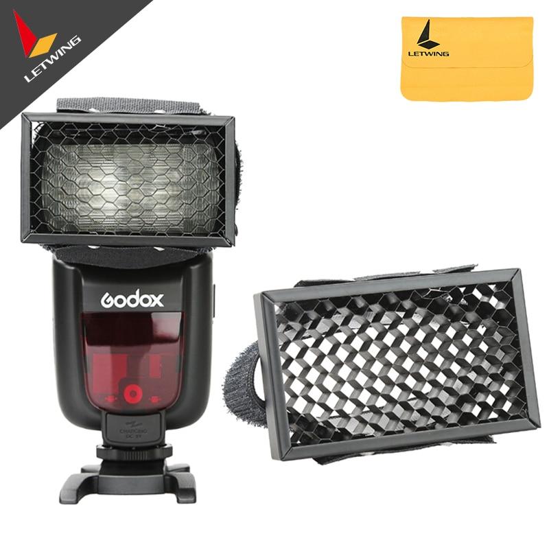 3PCS GODOX Speedlight Flash Universal Honeycomb Honey Comb Speed Grid for Flash Photography Studio