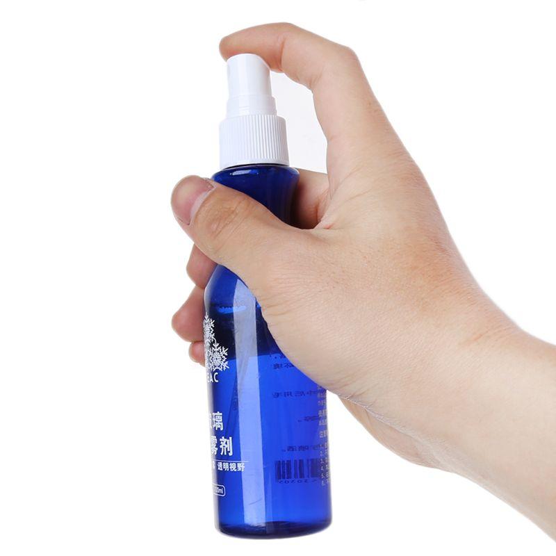 100ml Liquid Spray Glass Anti Fogging Car Windshield & Rearview Anti-fog Coating Mirror Protection Fog Agent