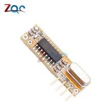 Récepteur sans fil superhétérodyne RXB12 433 Mhz précis pour Arduino AVR