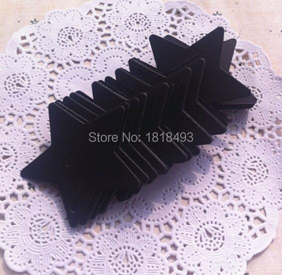 Envío Gratis 400 piezas un lote 6x6 cm en blanco 350 gsm pentagrama negro etiqueta de papel/etiquetas de regalo etiqueta de embalaje/etiqueta de columpio impresa de ropa