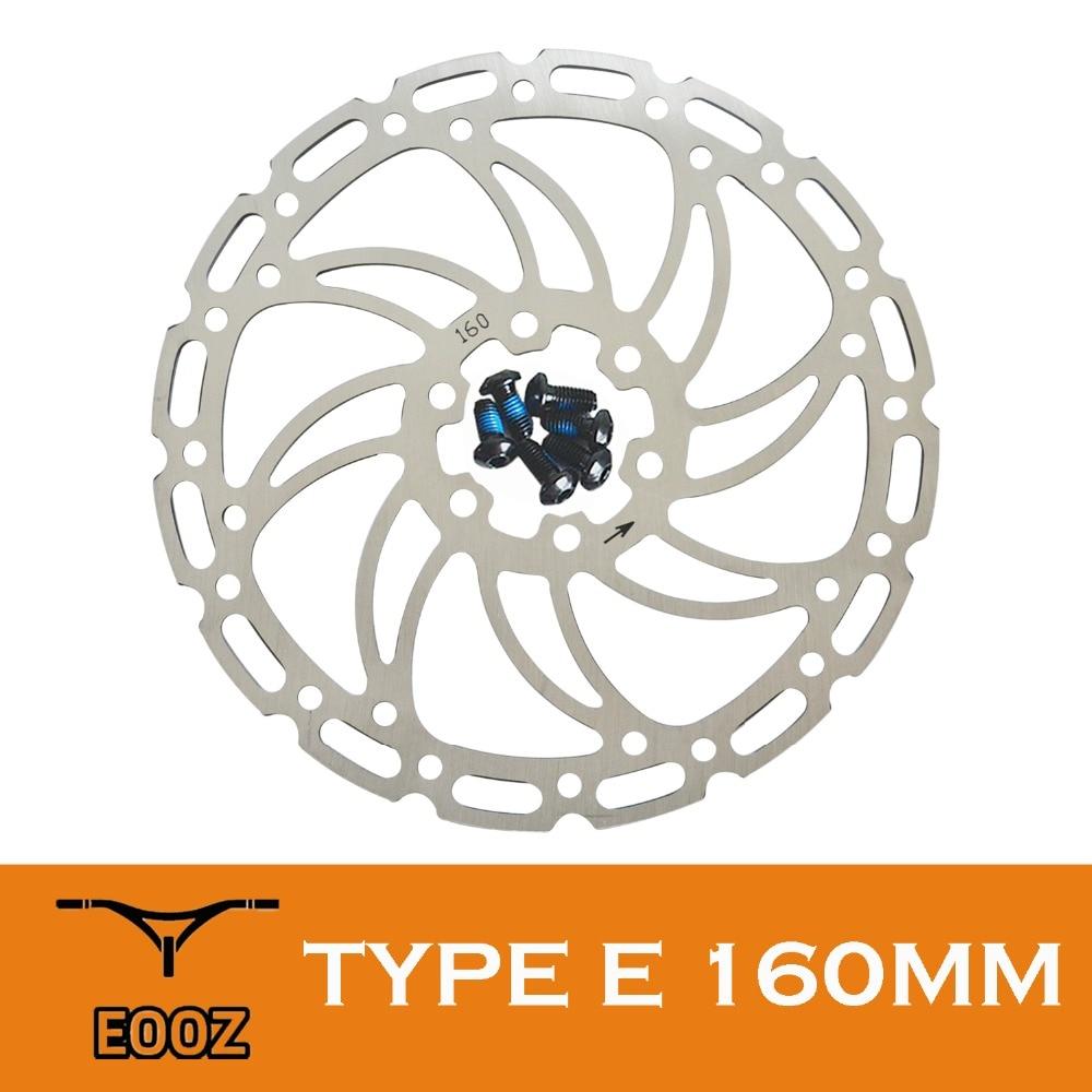 EOOZ bicicleta de montaña MTB bicicletas de carretera rotores de freno de disco 6 pulgadas 160mm estándar internacional con pernos