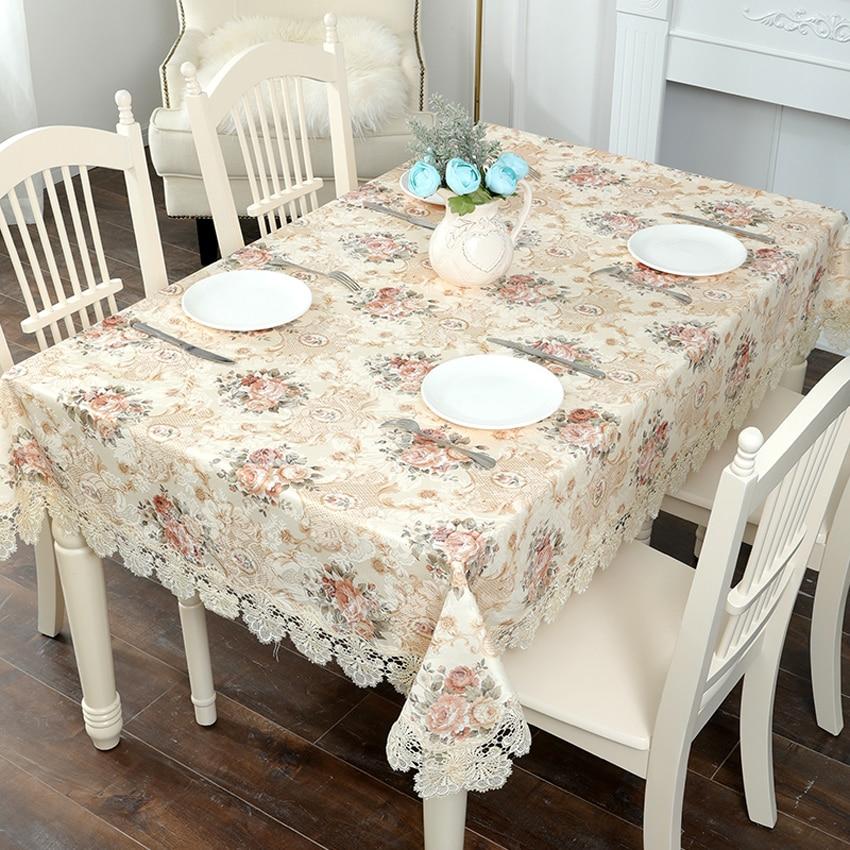 Europa Jacquard de tela de mesa clásico rectángulo manteles TV cubre de moda de la cubierta de la Mesa mesilla de noche cubierta horno cubierta