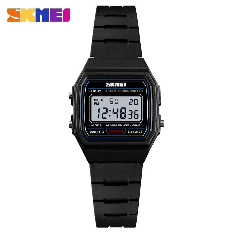 SKMEI Sports Style Kids Watches Alarm Clock Waterproof Watch Luminous Digital Wristwatch Relogio Children Watch 1460