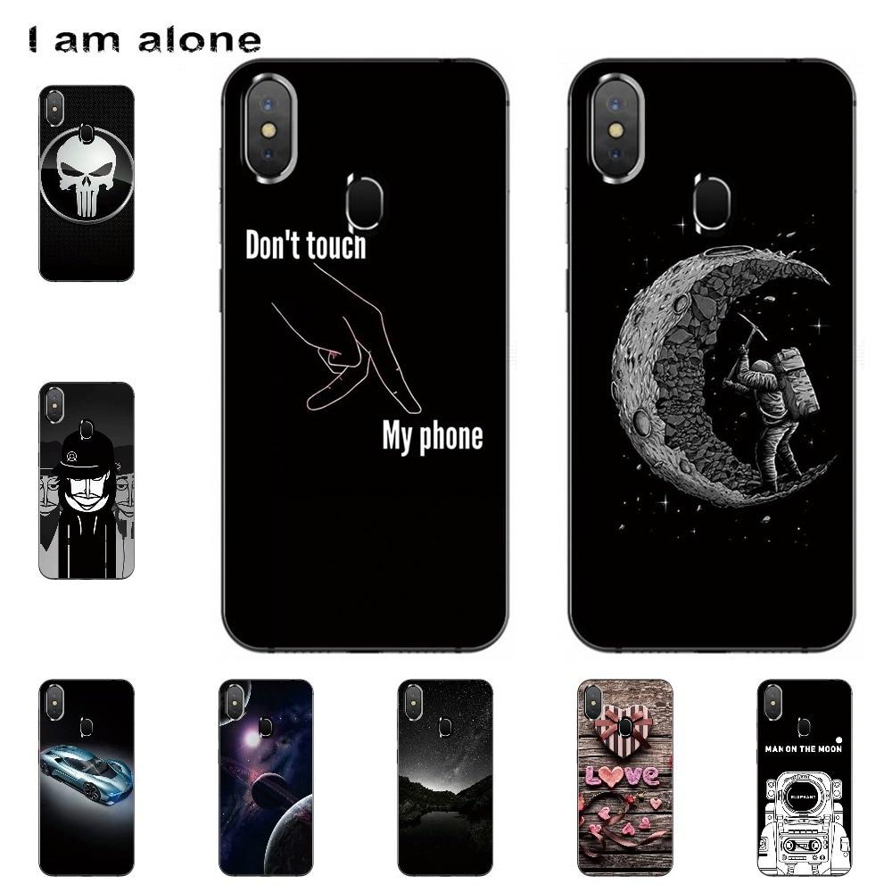 Fundas de teléfono I am alone para Leagoo S9 de 5,85 pulgadas, fundas blandas de TPU a la moda para teléfonos móviles Leagoo S9, bolsas para teléfonos móviles, envío gratis