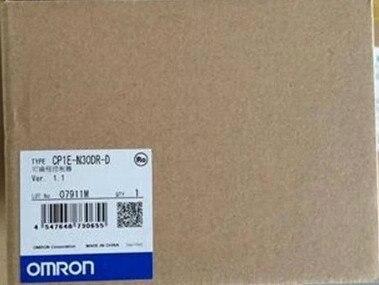 Nuevo Original CP1E-N30DR-D CP1E PLC CPU para Omron Sysmac 30/O 18DI 12DO de relé