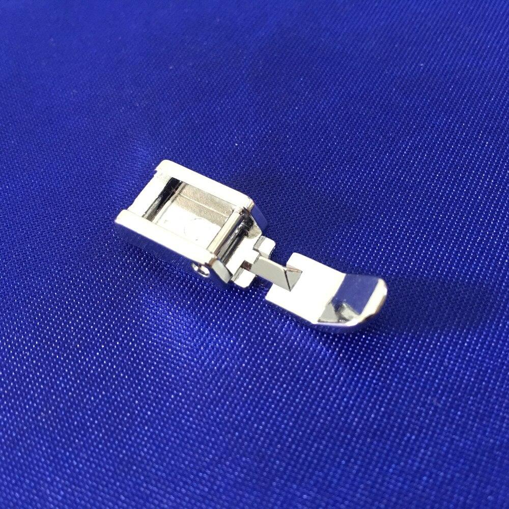 Accesorios de costura con cremallera, prensatelas para máquina de coser con cremallera para pie, ajuste de vástago bajo, Snap On Singer Brothe AA7030