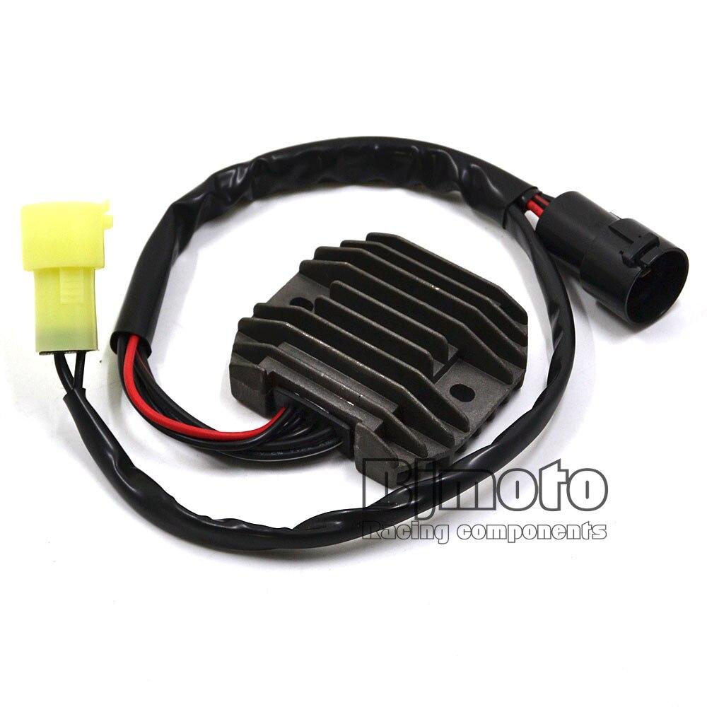 BJMOTO Moto ZX6R ZX6RR ZX600 regulador de Metal rectificador para Kawasaki NINJA ZX-6R ZX600 2000-2004 NINJA ZX-6RR ZX600 2003 -2004