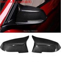 Look carbon fiber mirror cover for BMW3F30 2013F21/F22/F31/F32/F33/F34/F35/F36 F20(201312015)/X3Gloss fiber style