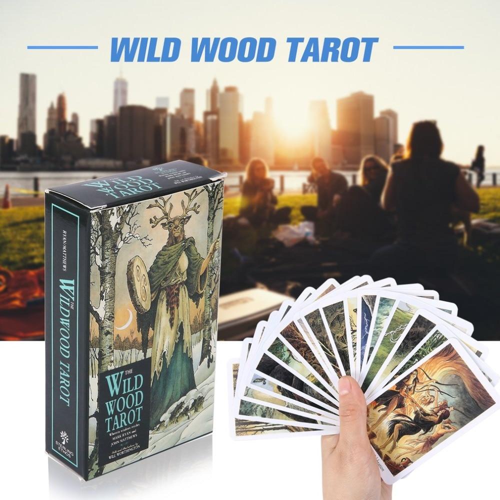 2019 nuevo juego de cartas Magic Wild Wood Tarot Read Fate Tarot para uso Personal juego de mesa A 78 cartas