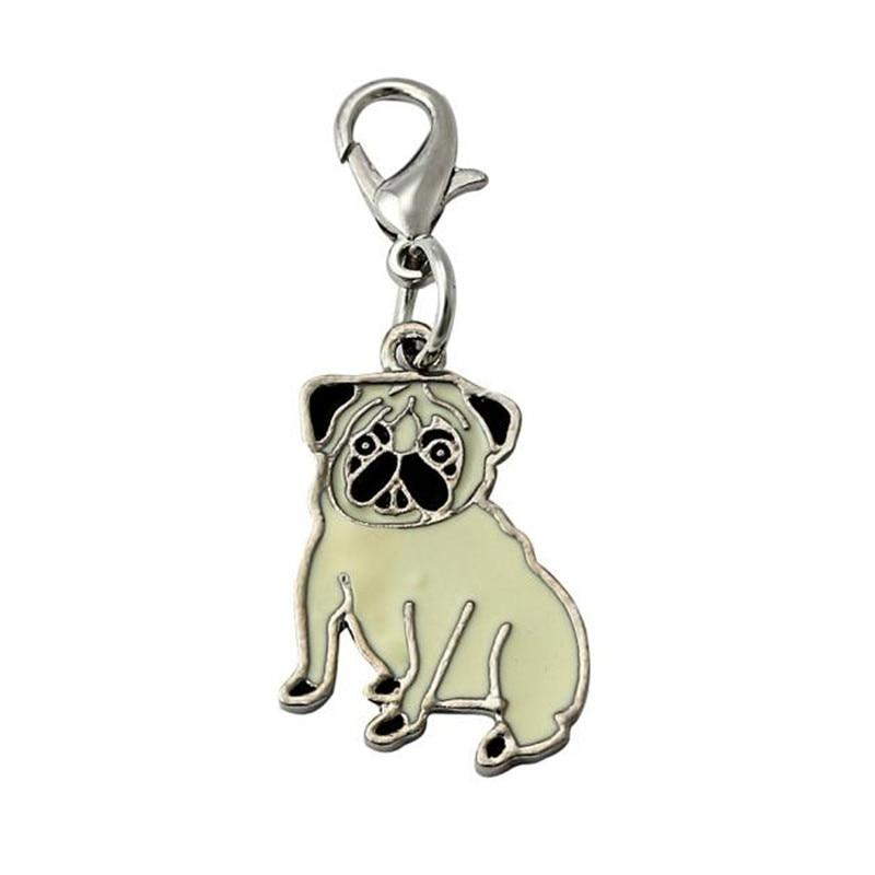 Disco de identificación de perro, accesorios con esmalte para identificación de mascotas, Collar con colgante, collar para perro 2018, Collar para perro nuevo