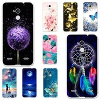 tpu cases for zte blade v7 lite v6 plus case silicone floral painted bumper for zte blade a2 bv0720 5 0 inch phone cover fundas