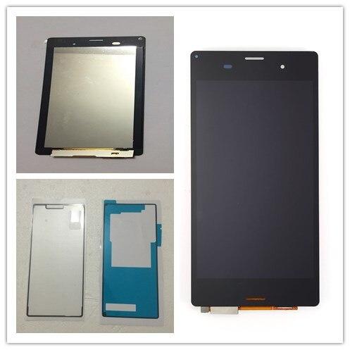 ЖК-дисплей JIEYER для Sony Xperia Z3 L55t D6603 D6653 sol26, черный экран 5,2 дюйма, дигитайзер сенсорного экрана в сборе + клей