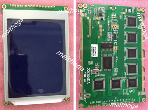 Módulo gráfico LCD320240 5,7 pulgadas controlador ra835 5 V 3,3 V Blanco/azul luz de fondo sin tacto