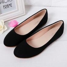 Printemps été dames chaussures ballerines femmes chaussures plates femme ballerines noir grande taille 43 44 chaussures décontractées Sapato femmes Loafe