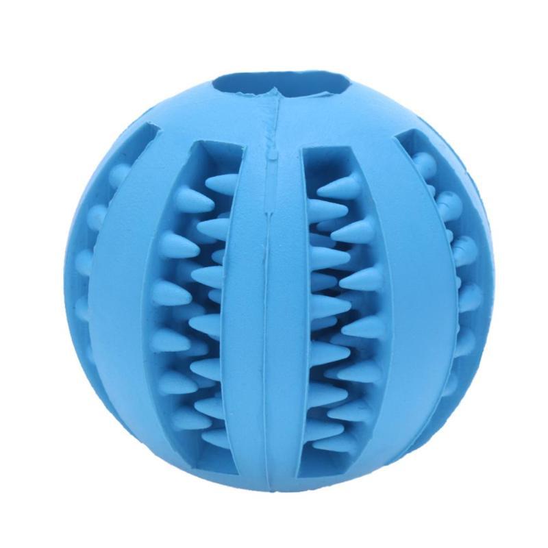 5cm Juguetes para perros Extra-pelota de goma resistente juguete pelota interactiva, divertida y elástica mordedores de juguete para perros para perro bola limpia de comida